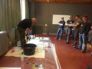 Workshop gietvloeren en steentapijt
