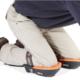 Epoxy-Design/Pimpuwvloer: erkend verdeler Fento kniebeschermers